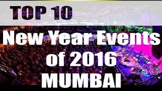 TOP 10 EVENTS OF NEW YEAR 2016 ||MUMBAI|| you must go