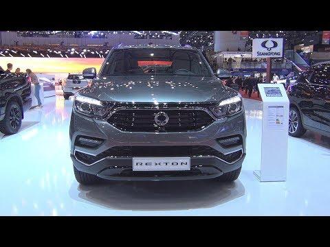 SsangYong Rexton Sapphire 7AT AWD Elegance 2.2 D E-XDI 220 (2019) Exterior And Interior
