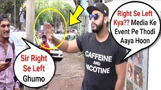 Arjun Kapoor Raise His Hand On Reporter While Clicking  Pictures