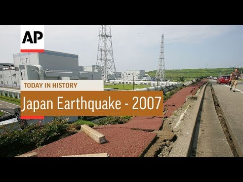 Japan Earthquake - 2007   Today In History   16 July 18