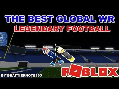 THE BEST GLOBAL WR ON LEGENDARY FOOTBALL (HIGHLIGHTS)