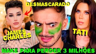O FIM DO JAMES CHARLES! TRETA: JAMES vs TATI 🔥|Victor Nogueira