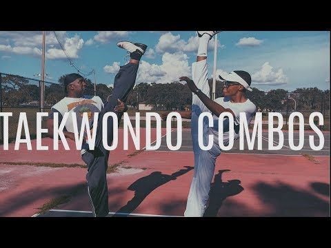 Taekwondo Combo Kicks, Turning Kicks, Single Kicks , straight kicks.