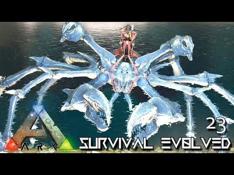 ARK: ABERRATION MODDED - LVL 1400 KARKINOS GIANT CRAB !!! E23 ( GAMEPLAY ARK: SURVIVAL EVOLVED )