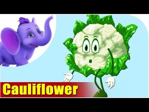 Phool Gobi (Cauliflower) - Vegetable Rhymes in Hindi