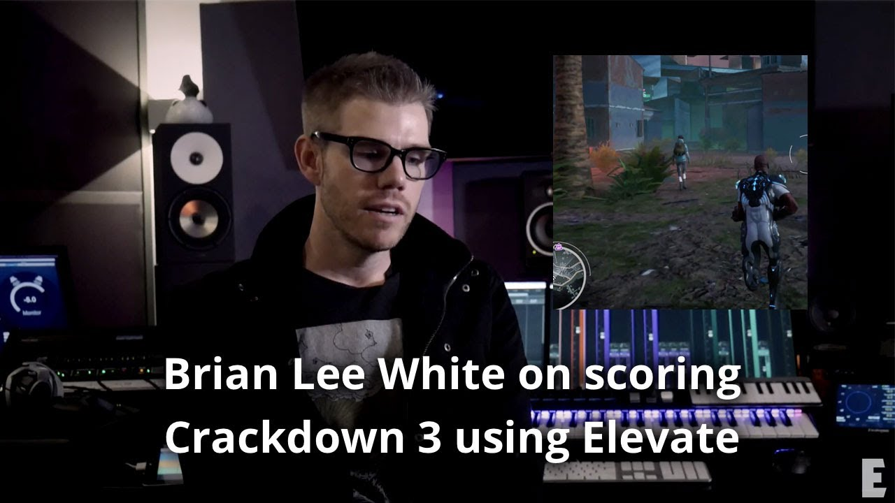 Brian Lee White Video Game Scoring Crackdown 3 using Newfangled Elevate