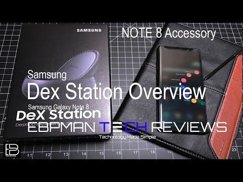 Samsung Galaxy Note 8 Dex Overview