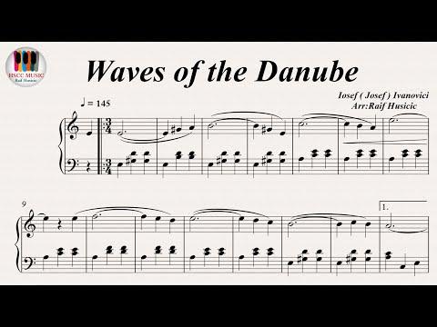 Waves of the Danube - Iosef ( Josef ) Ivanovici, Piano