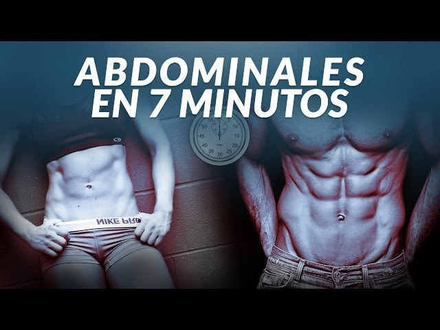 tabla abdominales 8 minutos