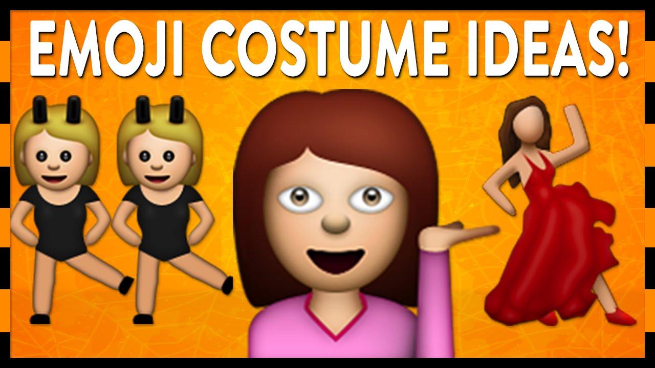 diy emoji halloween costumes youtube