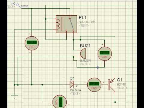 carregador de bateria desliga automatico muito simples