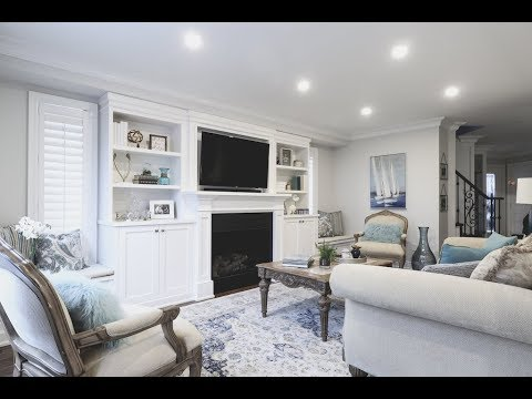 YouTube & A contemporary meets traditional living room and entryway makeover