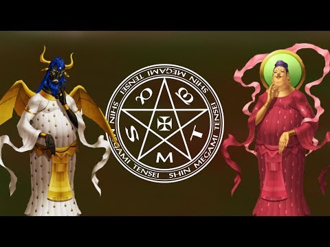 Shin Megami Tensei Demonology - Maitreya and Mitra Buddha Mythology, Design and Gameplay Analysis