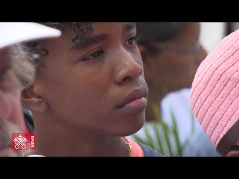 One day in 60 seconds: Pope Francis in Mauritius 09 09 2019