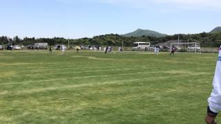 2014.5.11.JリーグU-14サザンクロス vsサンフレッチェくにびき前半