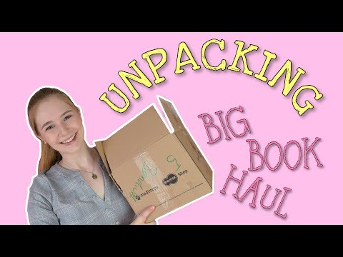 BIG Book Haul | Medimops Unpacking