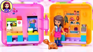 Andrea's Pet Shop Cube - Lego Friends Portable Playset build