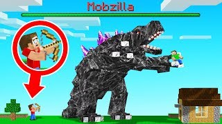 We CREATED The NEW STRONGEST Minecraft BOSS! (Mobzilla)