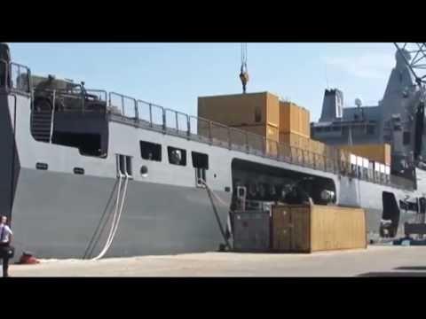 Ebola response: Dutch vessel arrives in Sierra Leone