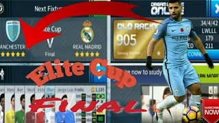 Dream League Soccer 2018 - Elite Cup Final - Manchester City vs Real Madrid