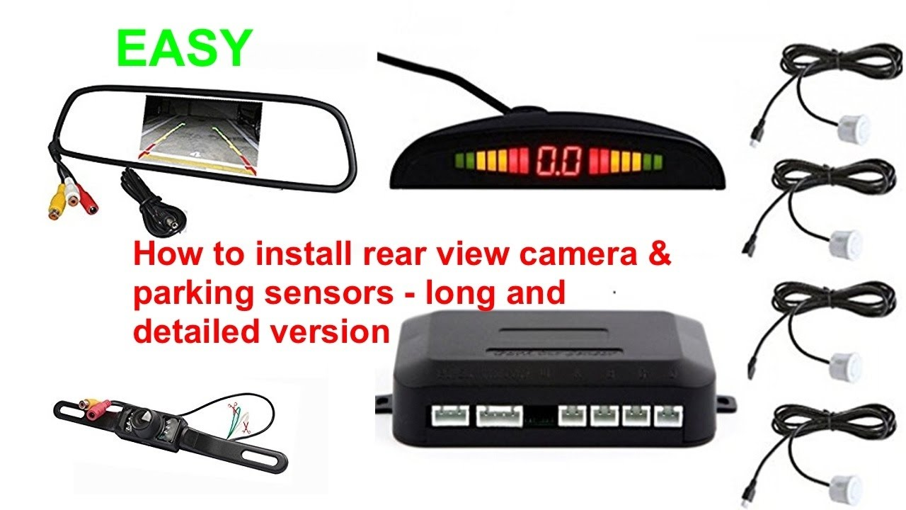 Typical Automotive Backup Camera Wiring Simple Guide About Wire Diagram Koolertron Circuit