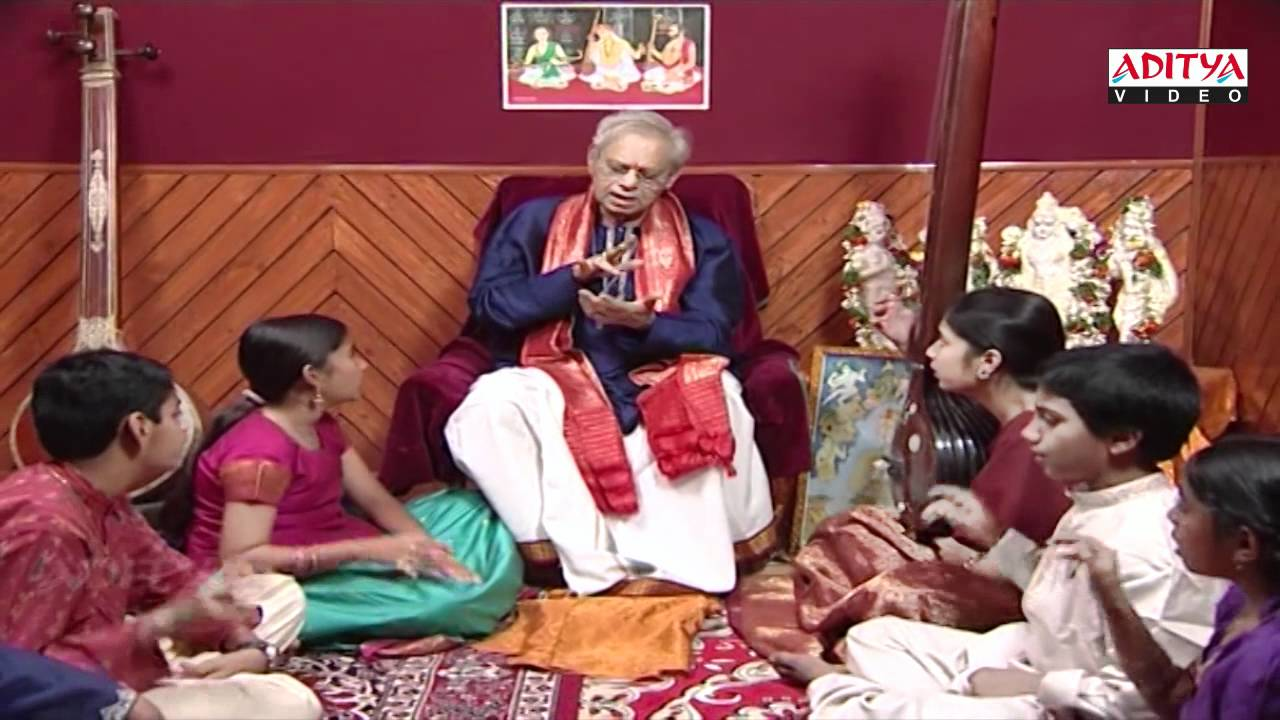 Indian classical music Lessons By Dr. Nookala China Sathyanarayana - part 7