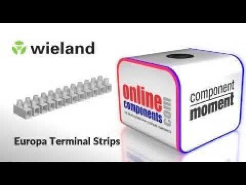 Component Moment - Wieland Electric Europa Terminal Strips