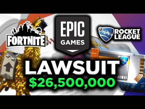 $26.5 MILLION DOLLAR ROCKET LEAGUE LAWSUIT | EPIC Games & Psyonix Settle in Court