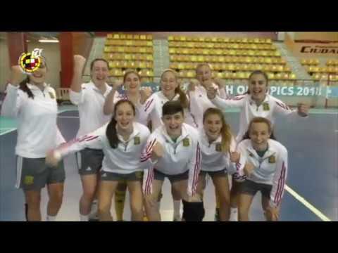 Selecci n espa ola de f tbol sala femenino sub 17 youtube for Federacion espanola de futbol sala