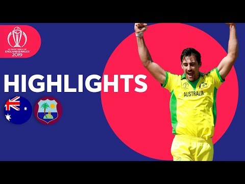 ICC Cricket World Cup 2019: Australia v West Indies: Match 10