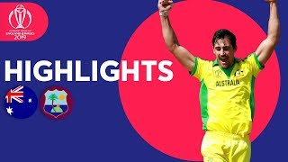 Starc Stars With 5-for! | Australia vs West Indies - Match Highlights | ICC Cricket World Cup 2019