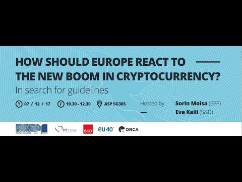 How Should Europe React To The New Boom In Cryptocurrency?