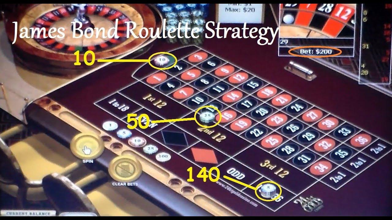Metodo james bond roulette