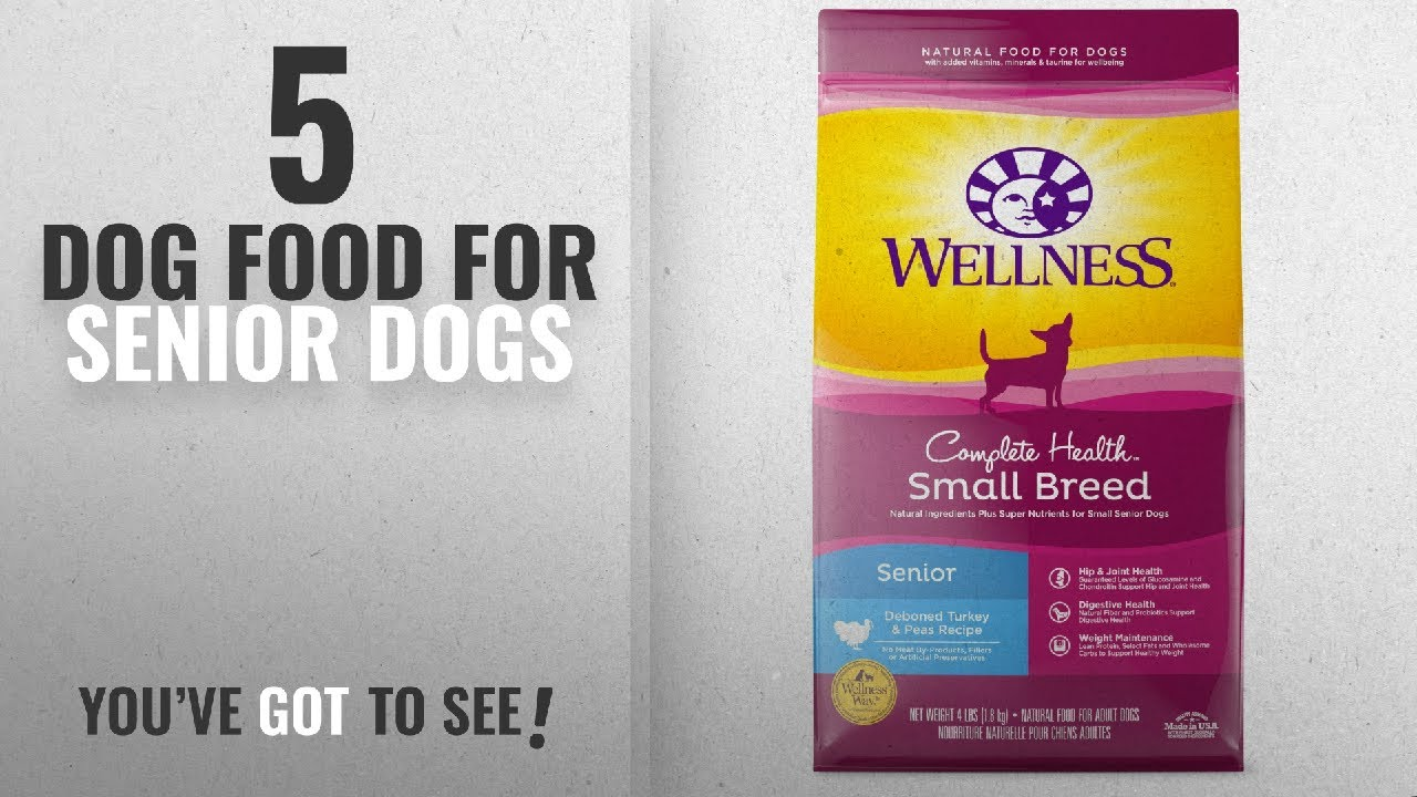 Top 5 Dog Food For Senior Dogs 2018 Best Sellers