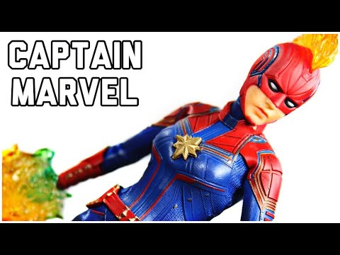 MEZCO One: 12 Collective Avengers: Infinity War Captain Marvel Action Figure Review MARVEL
