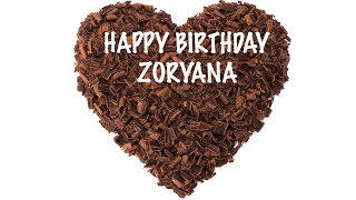 Zoryana   Chocolate - Happy Birthday