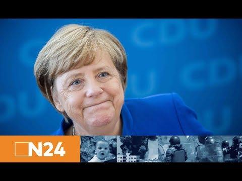 Nach Niedersachsen-Wahl: Pressekonferenz von Angela Merkel zu dem Wahlergebnis