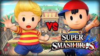 Lucas VS Ness [Super Smash Bros. Wii U]