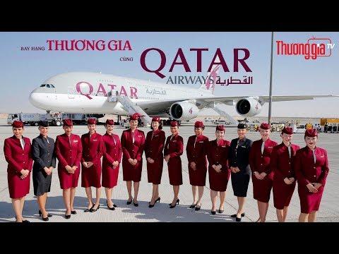 Khám phá dịch vụ hạng thương gia cao cấp của hãng hàng không Qatar Airways