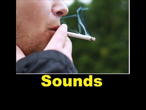 Smoking Sound Effects All Sounds