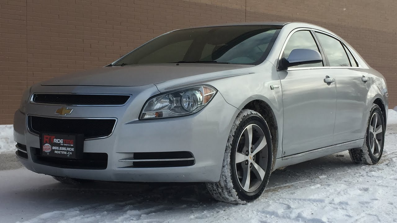 2009 Chevrolet Malibu Hybrid Alloy Wheels Windows Locks Automatic Great Value