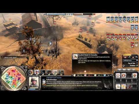 COH 2 Season 3 #17 OKW Wehr vs Soviets Elite Inf