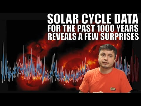 Solar Cycle History For the Past 1000 Years Reveals a Few Surprises