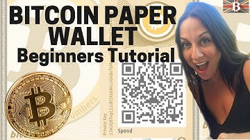 Bitcoin Paper Wallet Beginners Tutorial