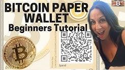 Bitcoin Paper Wallet Beginners Tutorial