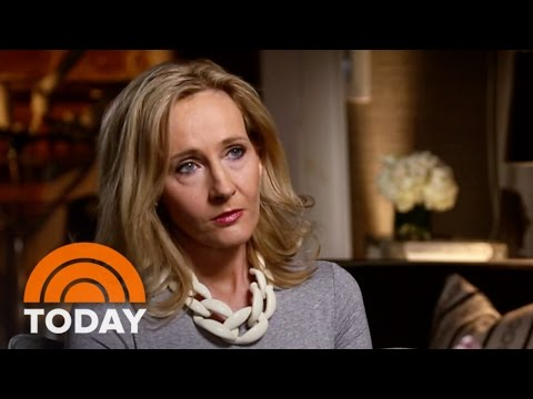 J.K. Rowling Talks Harry Potter and More  TODAY
