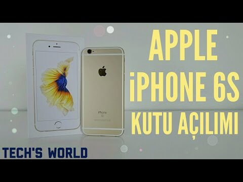 iPhone 6s Kutu Açılımı