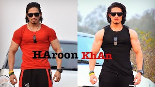 HAROON KHAN WALK AND BODY POSING VIDEO