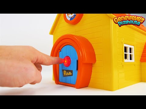 Best Toddler Learning Video for Kids Learn Colors & Words Pororo the Little Penguin Toy Dollhouse!