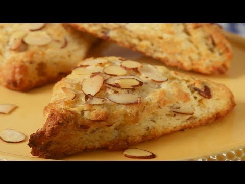 Lemon Ginger Scones Recipe Demonstration - Joyofbaking.com